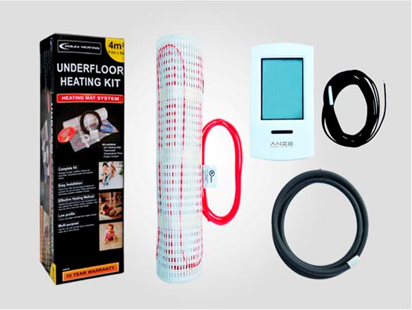 TILE WARM ---------- Sistema de calentamiento UL War Mat - Sistema calefactor Mat caliente