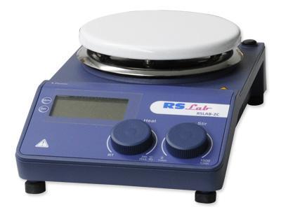 Agitateur Magnétique numérique RS LAB 2NC - REF 57 200 008 (chauffant)