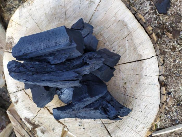 Древесный уголь  - Premium-class ресторанная фракция