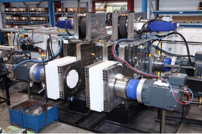 Специальный станок - Специальные машины для холодной штамповки и горячей деформации