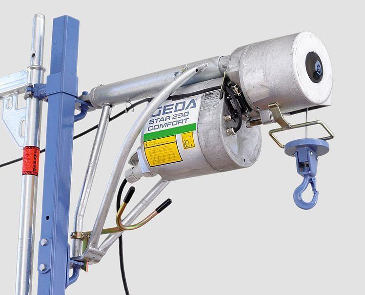 GEDA STAR 250 COMFORT - GEDA STAR 250 COMFORT - Rope Hoists