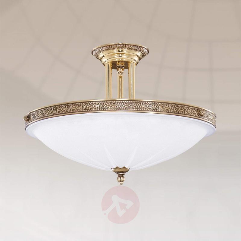 Classic ceiling light TULIO, 40 cm - design-hotel-lighting