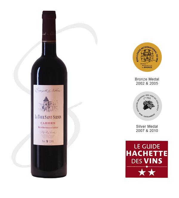 LA TOUR SAINT-SERNIN - Wine French cuvées