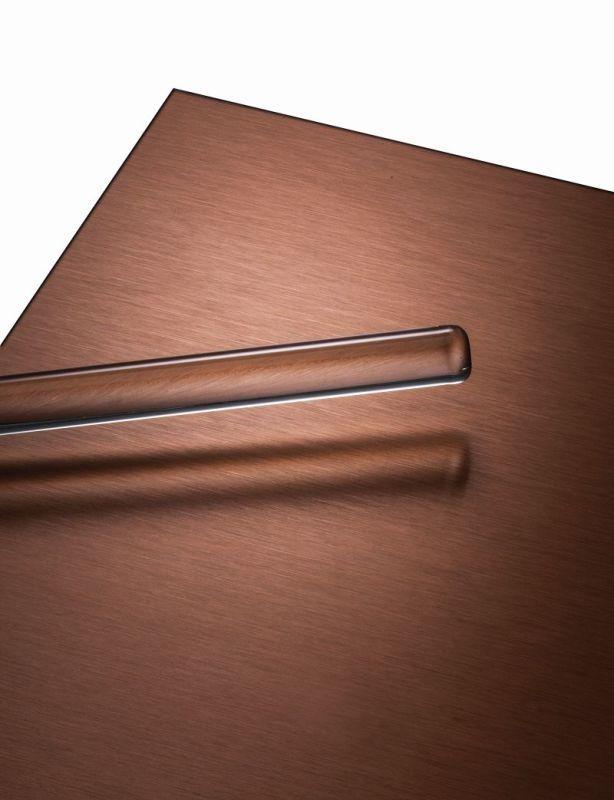POHL Duranize® Copper - Aluminium-Bleche, kupferfarben eloxiert, matte bis seidenglänzende Oberfläche.