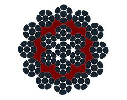 19XK7 Plastic covered core (Polyurethane) - miniera - cavi