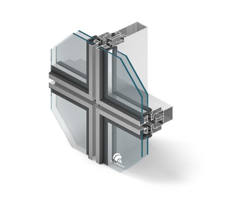 facade-systems aluprof mb-sg50 - aluminium-joinery