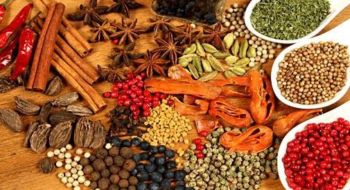 Especiarias e Condimentos