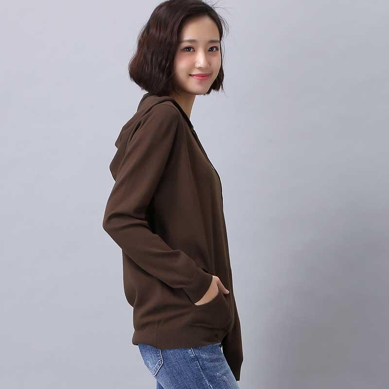 Hoodie For Ladies 39 Wear Knitwear In Fashion Style Henan Zhenhua Yongsheng Garment Co Ltd China