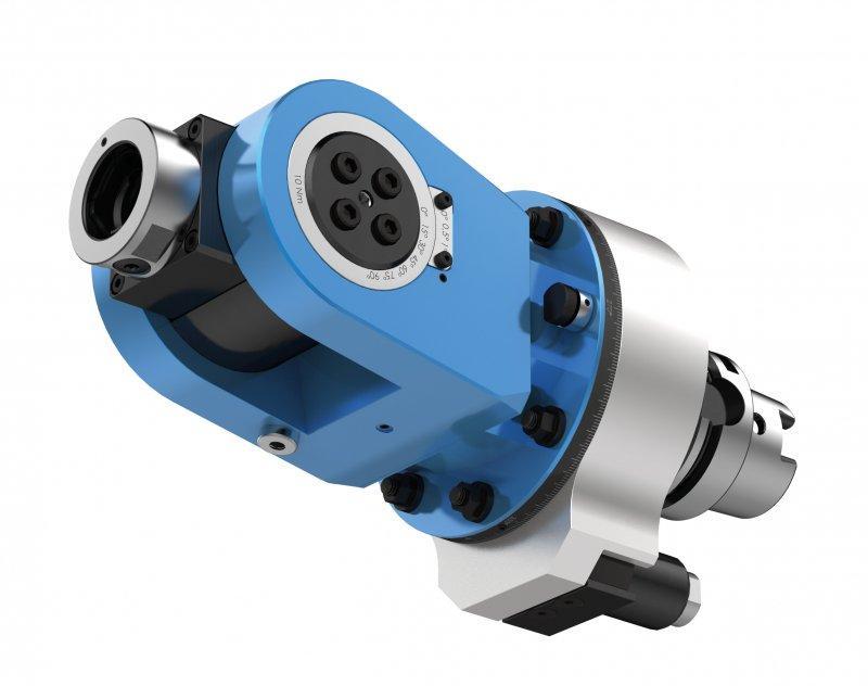 Schwenkkopf FLEX WDX - CNC Aggregat zur Bearbeitung von Metall
