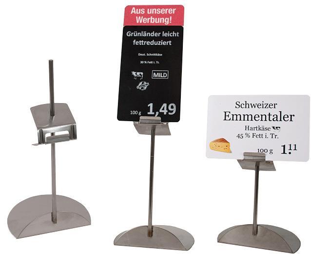 promoflex Verkaufsförderung - Die attraktive Alternative zur Preiskassette – promoflex Thekenauszeichnung