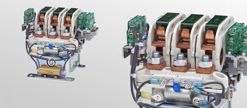 Cam contactors C155/C156/C157 - Multi-pole cam contactors for voltages up to 750 V
