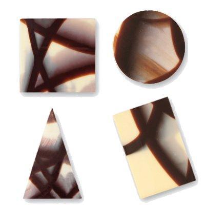 Decori in Cioccolato Jura Forme Assortite 340 pz - Alimentare - Cioccolato e caramelle