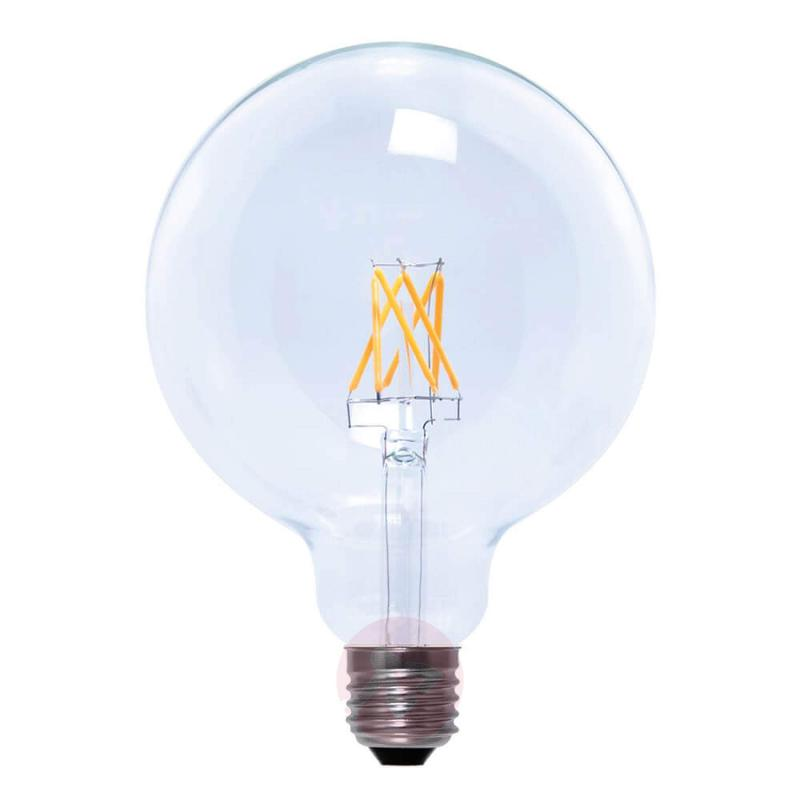 E27 6W 926 globe lamp G125 clear - light-bulbs