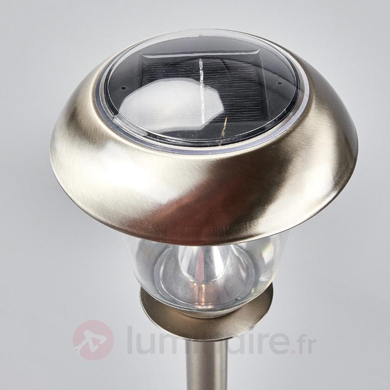 Lampe solaire LED Nela pour le jardin - Toutes les lampes solaires