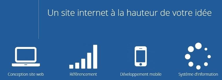 Conception site web - Conception site web et développement d'applications mobiles