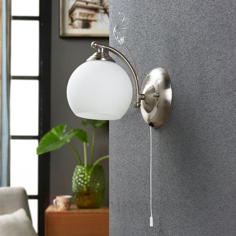 Applique décorative Svean - Appliques chromées/nickel/inox
