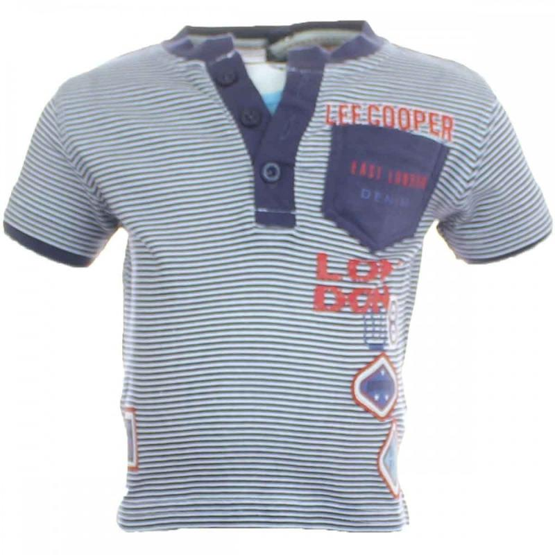 10x T-shirts manches courtes Lee Cooper du 6 au 14 ans - T-shirt et polo manches courtes