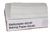 Non-stick baking paper, 60/40 (cm) - Accessories
