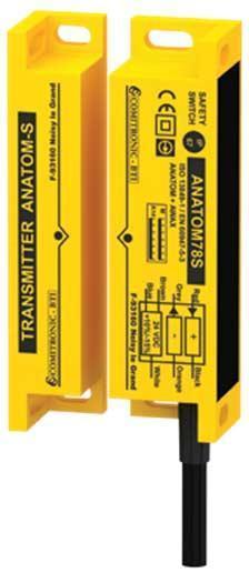 Contrôle la position des portes/carters de machines dangereuses - ANATOM 78S-98S, 78SMKT, 78SMKT130, 78SM12, 98SM12, 78SESM12