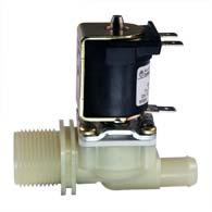 Direct acting solenoid valve, DN 10 media separated - 01.010.124