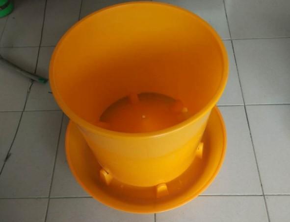 20kg Volume poutry,chicken,duck,goose feeder pan -  chicken,duck,goose feeding pan