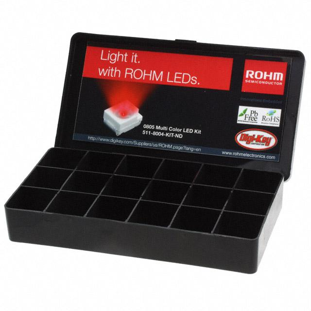 KIT LED 0805 MULTI COLOR - Rohm Semiconductor 511-8004-KIT