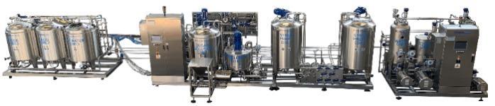 Siroperie pour BRSA / boissons gazeuses - Siroperie automatique ou semiautomatique pour BRSA, boissons gazeuses, thè