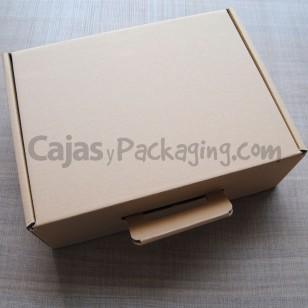 Maletín de cartón - Tamaño: 35 x 26 x 12 cm.