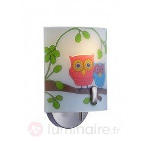 Applique enfantine Ugglarp motif chouette - Chambre d'enfant