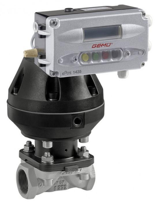 GEMÜ 620 - Válvula de diafragma de accionamiento neumático