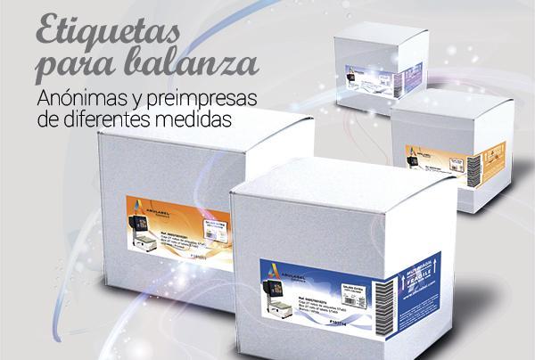 Etiquetas Balanza