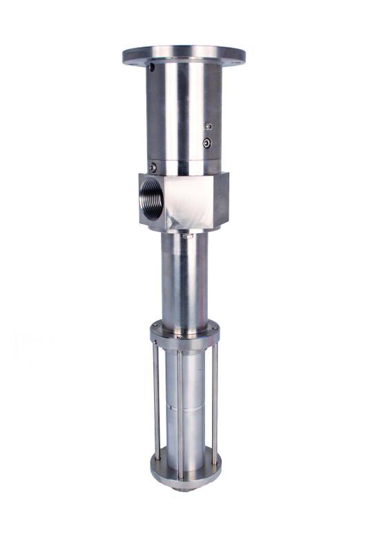 Selbstansaugende Pumpe 3VMP18/Verdrängerpumpe - Dosierung hochviskose Flüsskigkeiten/7,5 ml/U/Volumetrisches Dosiergerät