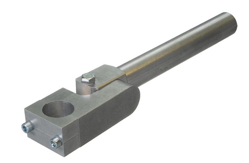 Schwenkköpfe für Greifarme Ø 30 mm - verstärkt - null