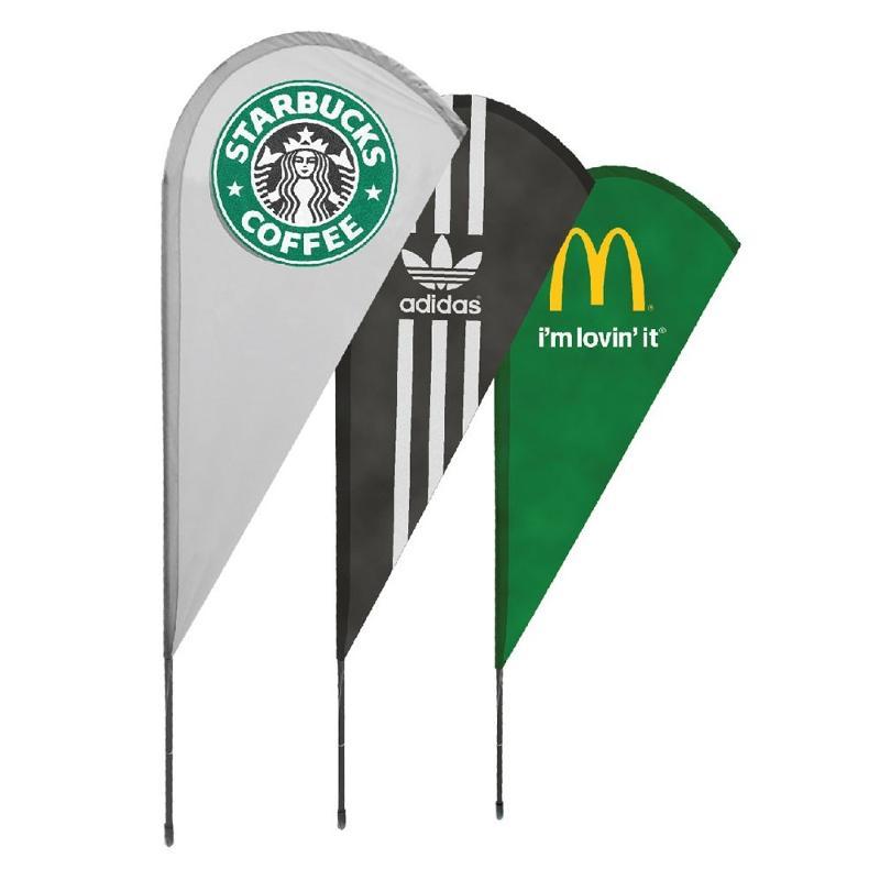 Wind flag goutte - Drapeaux publicitaires et oriflamme