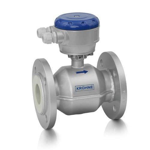 OPTIFLUX 2000 - Caudalímetro para agua / electromagnético / en línea