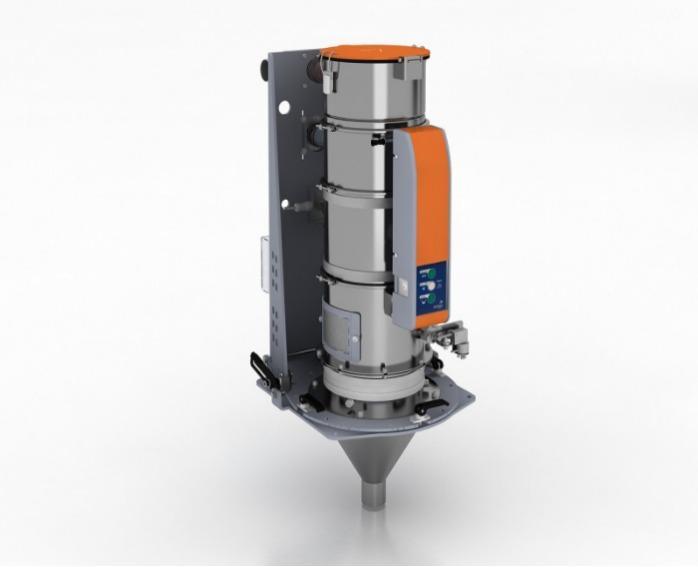 Trasportatore gravimetrico - Gestione materiali - METROFLOW - Trasporto gravimetrico, automazione della lavorazione della plastica
