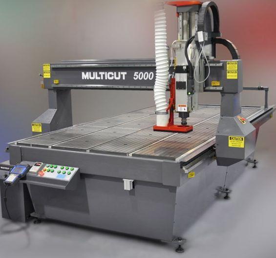 Фрезерный гравировальный станок MULTICUT 5000-1530-9H - фрезер с ЧПУ портальный с автоматической сменой инструмента