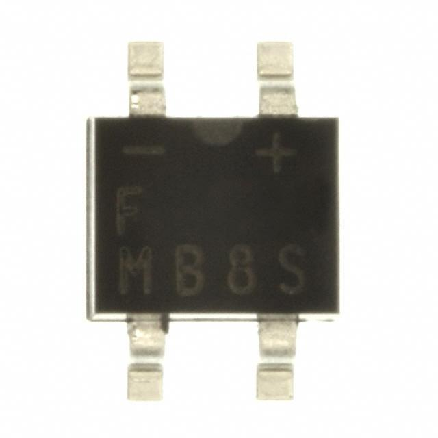 DIODE BRIDGE 0.5A 800V 4-SOIC - Fairchild/ON Semiconductor MB8S