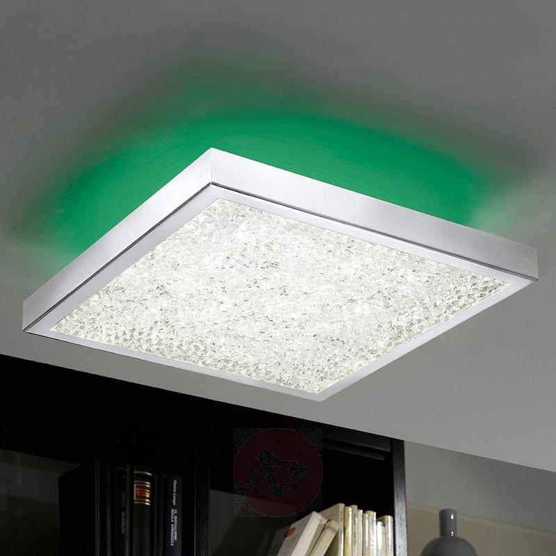 Cardito 36.5 Crystal Ceiling Lamp With RGB LED - Ceiling Lights