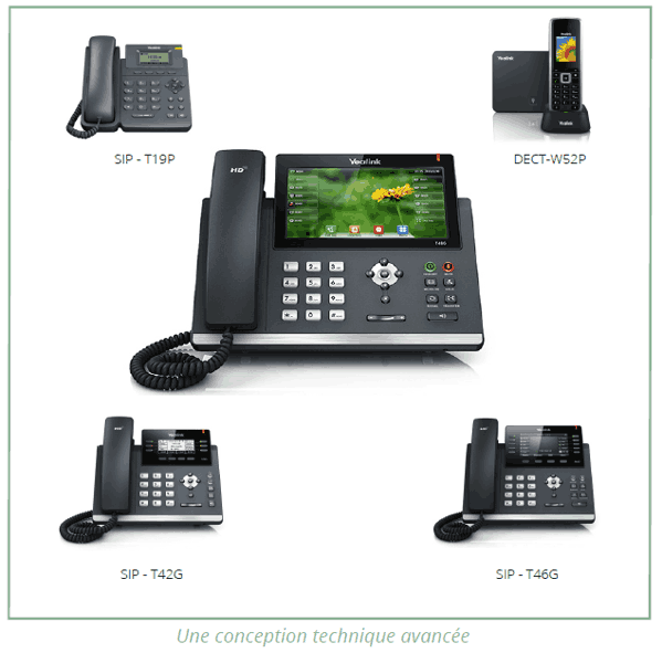 Location de standards et postes téléphoniques IP