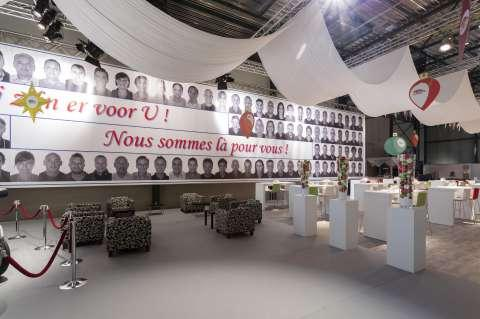 Claes Distribution - Project - Salon : Opendeurdagen
