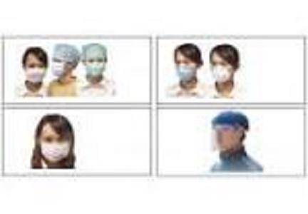 Máscaras - Otros desechables