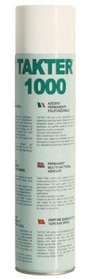 TAKTER® 1000 - Adesivo spray