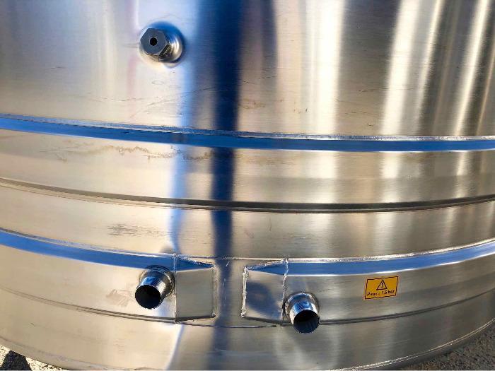 Serbatoio in acciaio inox 304 - 52 HL - SPAIPSER5200