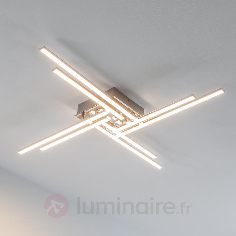 Nikan - plafonnier LED avec 8 tubes - Plafonniers LED