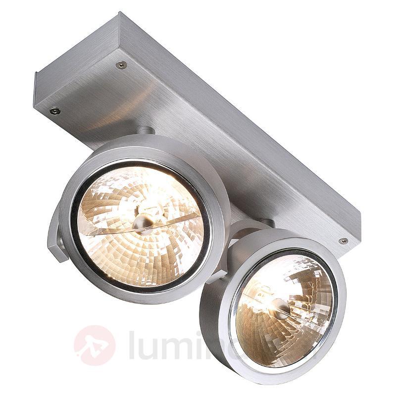 Spots à 2 lampes Kalu pour mur ou plafond - Spots et projecteurs halogènes
