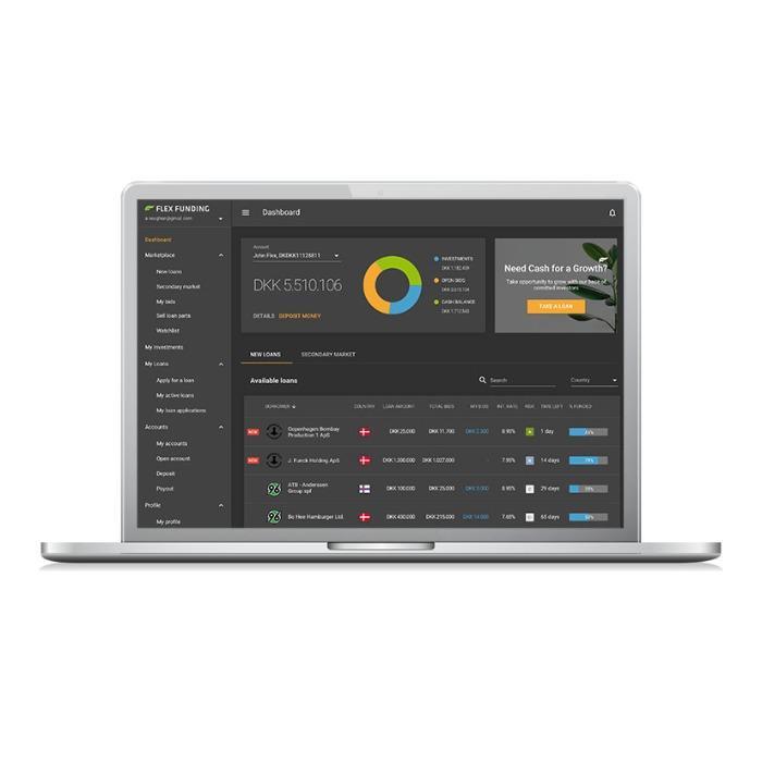 UI/UX Design For FinTech -