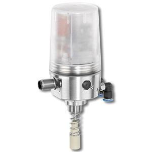 Ventilanschaltung mit integriertem Vorsteuerventil GEMÜ 4242 - Ventilanschaltung zur Montage auf pneumatisch betätigte Linearantriebe geeignet.