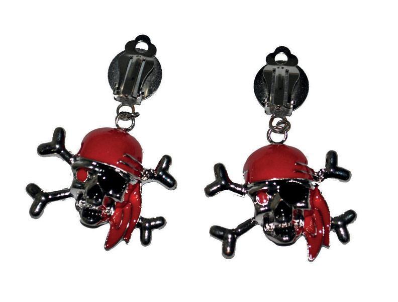 Boucles d'oreilles pirate - Articles de fête et Carnaval