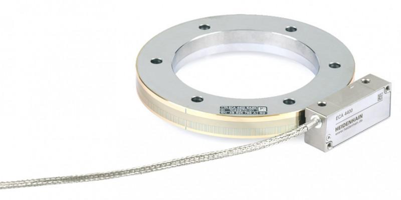 Angle encoders  without Integral Bearing - ECA 4000 Vakuum - Absolute Modular Angle Encoder for Application in High Vacuum